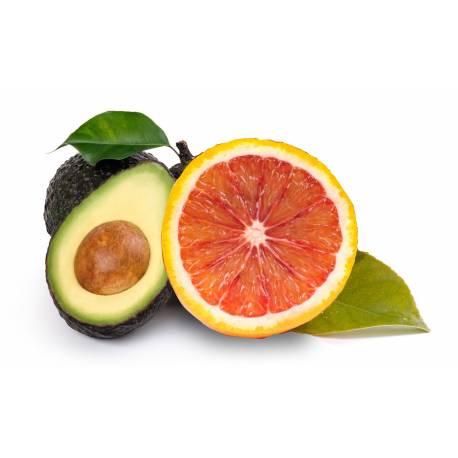Naranja Sanguina (8 Kg) y aguacate (2 Kg)