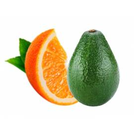 Naranja de zumo (11 Kg) y aguacate(4 Kg)