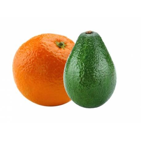 Naranja de Mesa (13 Kg) y aguacate(2Kg)