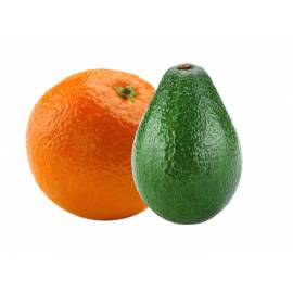 Naranja de zumo (6 Kg) y aguacate(4 Kg)
