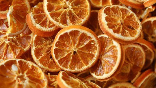 ¿Cómo deshidratar naranjas?