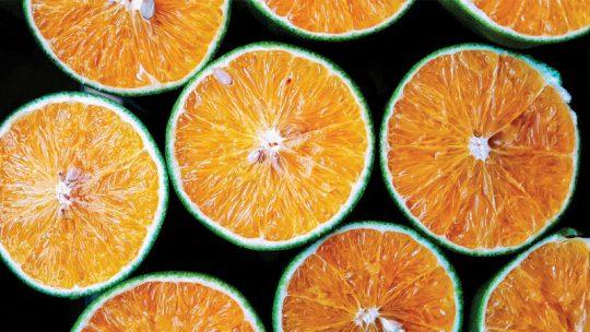 Piel de naranja confitada paso a paso