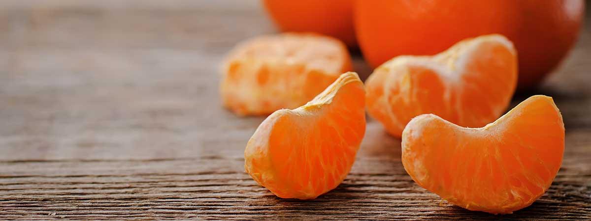 ¿Cuántas calorías tiene la mandarina?